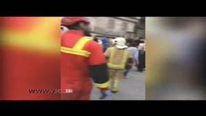 انفجار شدید در بازار تهران