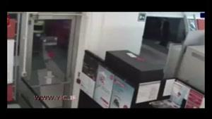 سارقان حرفهای دستگاه عابربانک را دزدیدند!