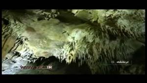 طغیان آب در غار شگفت انگیز