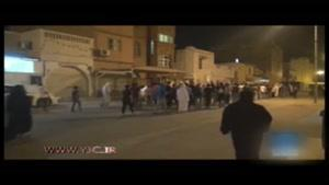 سرکوب تظاهرات بحرینیها علیه نظامیگری سعودیها