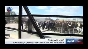فیلم/«بشار اسد» در افتتاح پروژه بزرگ عمرانی دمشق