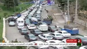ترافیک در محور شهرهای زیارتی