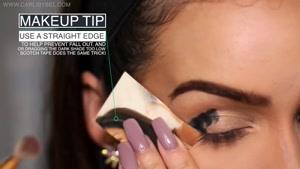 آموزش آرایش زیبای اسموکی آبی نقره ای