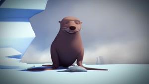 انیمیشن پنگوئن ها و ماهیگیری
