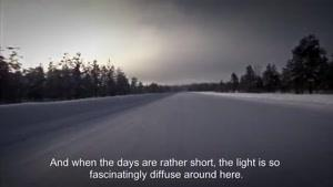 تست رانندگی با اتوبوس بنز در برف