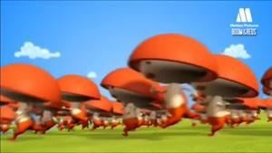 انیمیشن زندگی قارچ ها
