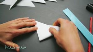 ستاره برفی کاغذی