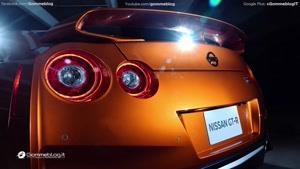 نما یی از خودروی Nissan GT-R