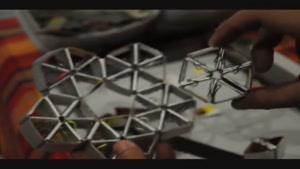 روش ساخت تترا لامپ با کاغذ