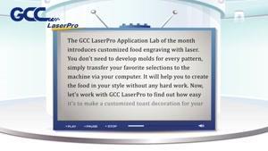 تزیین غذا سفارشی با حکاکی لیزری