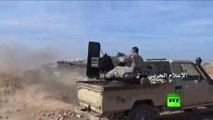 فیلم/ نبرد ارتش سوریه با گروه جبهه النصره در حلب