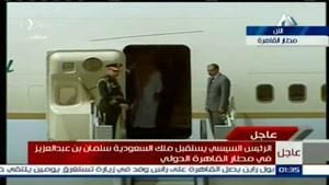 فیلم/جنجالی که دستمال «ملک سلمان» در مصر آفرید
