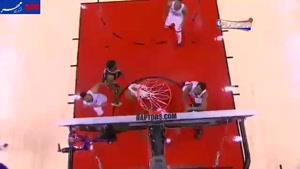 فیلم/ ۵ حرکت برتر دیدارهای امروز NBA