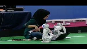 رقابت جذاب و دیدنی در مسابقات رباتیک