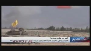 ورود نظامیان سوری به شهر آزادشده «القریتین» حمص