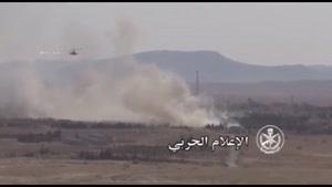 فیلم/تمساح روسی بلای جان داعش در سوریه