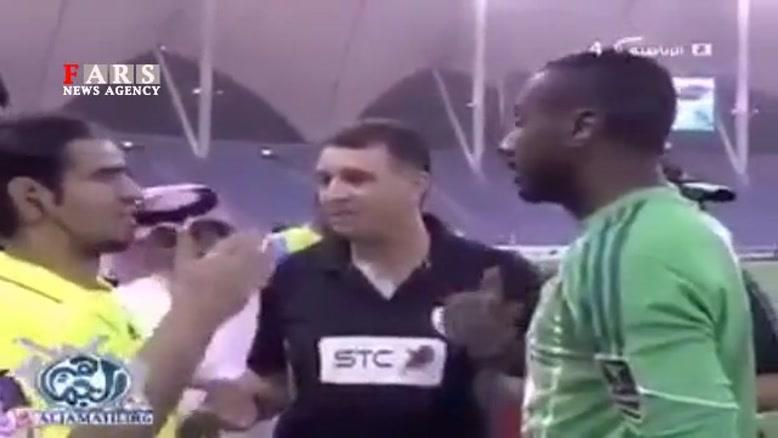 کوتاه کردن موی بازیکن عربستانی به علت اسلامی نبودن!