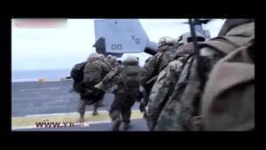 نبرد هواپیما- هلیکوپتر « ترنسفورمر » با داعش