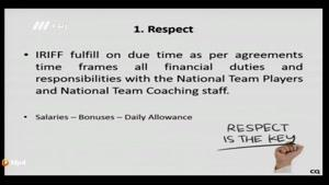 برنامه نود - درخواست های ۱۱ گانه کی روش از فدراسیون فوتبال