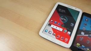 تست تبلت Galaxy Note 8.0 vs iPad Mini
