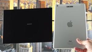مقایسه تبلت Sony Xperia Z۲ Tablet vs. Apple iPad Air