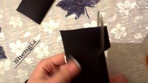 ساخت پروانه کاغذی بر روی دیوار
