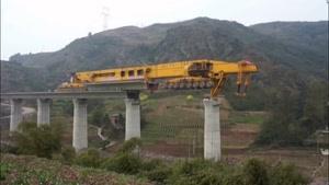 عجیب ترین ماشین پل ساز SLJ۹۰۰