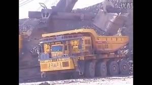 کامیون BelAZ کپی شده توسط چینی ها