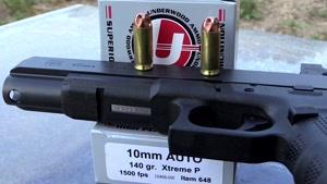 نبرد بین اسلحه GLOCK ۴۰ و شیشه ضد گلوله