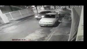 قتل هولناک پلیس با شلیک مستقیم پیک موتوری