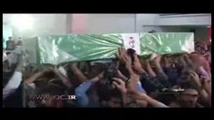 تشییع پیکر پاک چهار شهید مدافع حرم