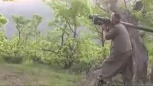 فیلم/لحظه هدف قرار گرفتن بالگرد ترکیه