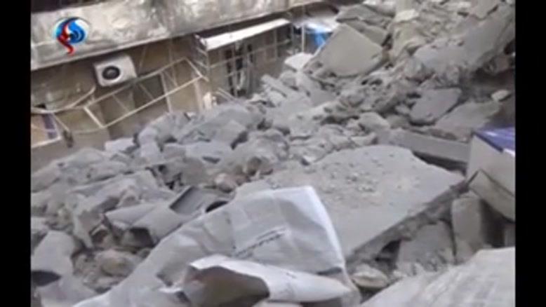فیلم/نقض آتشبس «حلب» سوریه توسط گروههای مسلح