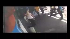 فیلم/ ضرب و شتم جوان فلسطینی توسط نظامیان صهیونیست