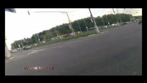 تصادف هولناک رانندگی به علت سرعت زیاد خودرو