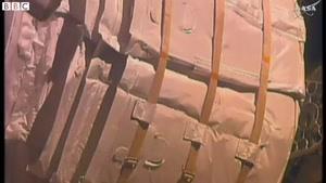 فیلم/ پف کردن ایستگاه بین المللی فضایی