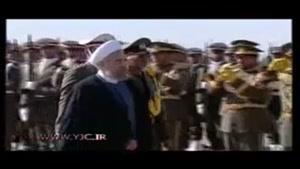 ورود رئیس جمهور به ارومیه