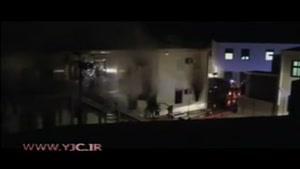 آتش زدن کمپ پناهجویان در لامپدوسا