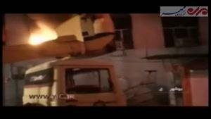 فیلم/ آتشسوزی گسترده در بیمارستان برازجان