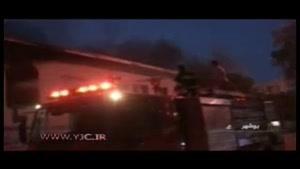 آتش سوزی در بیمارستان۱۷ شهریور برازجان