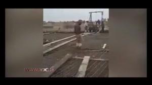 عاقبت دردناک انجام حرکات نمایشی توسط کارگر ساختمانی