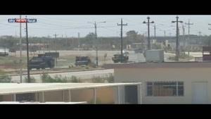 فیلم/ نبرد ارتش عراق در فلوجه