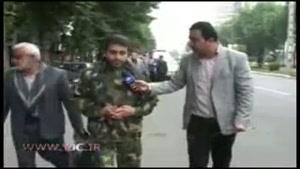 اعزام کاروان پیاده از مازندران به حرم امام خمینی(ره)