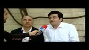مصاحبه فرزاد حسنی با باشگاه خبرنگاران جوان در رابطه با ماجرای زرشک و جمشید