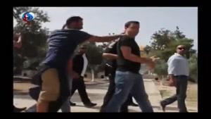 فیلم/ورود هتاکانه شهرکنشینان رژیم صهیونیستی به مسجدالاقصی