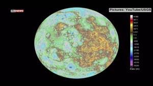 فیلم/ نقشه متحرک از سیاره عطارد