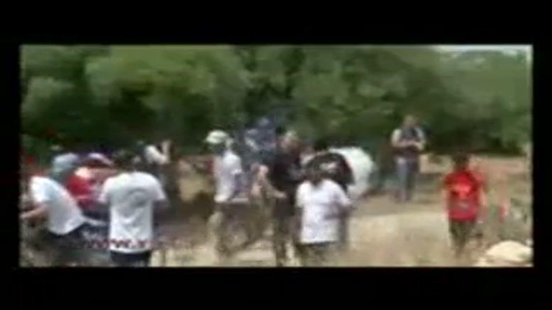 حمله صهیونیستها به شرکت کنندگان مسابقه ورزشی روز نکبت
