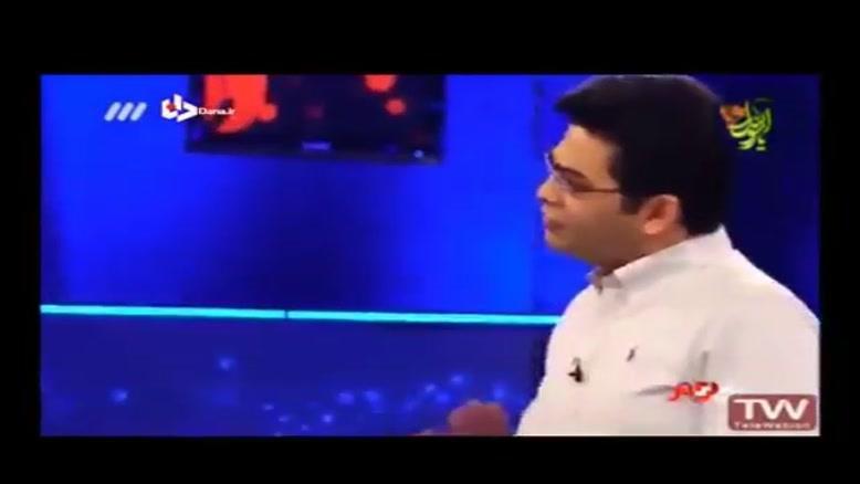 رفتار توهین آمیز فرزاد حسنی با میهمان برنامه «اکسیر»