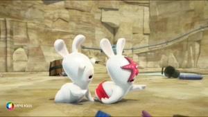 کارتون خرگوش های بازیگوش - ساحل