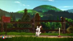 کارتون خرگوش های بازیگوش - بازی خرگوش ها